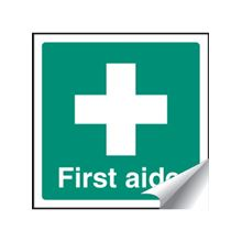 First Aider - 50x50mm - SAV 56084