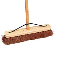 "Soft Coco Platform Broom - 12"" BR0112"