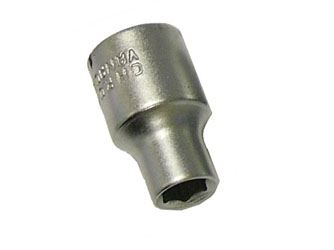 FAITHFULL 1/2in Square Drive Hex Socket - 11mm CT2630