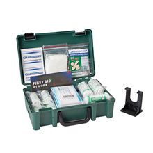 Standard First Aid Kit with Wall Bracket - 20 People FA3507