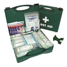 First Aid Kit with Wall Bracket Standard 50 Person Kit FA3513