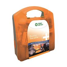 Burns First Aid Kit with Wall Bracket - Burns FA3591
