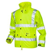 VELTUFF 'Reflex' Breathable Hi Vis Waterproof Jacket FW5050