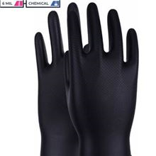 Maxim Nirtile Black Gloves box of 50 CV19 GL0064