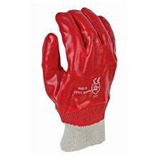 PVC Knitted Wrist Gloves GL6502