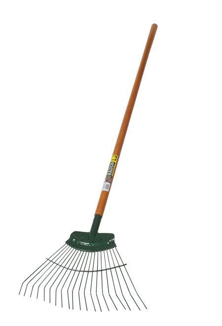 "BULLDOG 'Springbok' Metal Lawn Rake - 48"" Handle GMRA912"