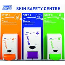 DEB Skin Safety Centre with Three Dispensers HC4288
