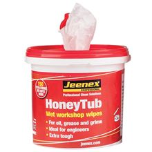 JEENEX® 'HoneyTub' Anti-Bacterial Hand Cleanser Wet Wipes CV19 HC6692