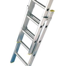 Triple Push-Up Aluminium Extension Ladders - 3 X 9 Rungs HG1690
