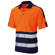 Dual Colour Coolviz Plus Polo Shirt HV0036