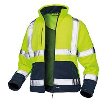 Veltuff Hi-Viz Ashton Reflex Fleece VC20 Two Tone HV2195