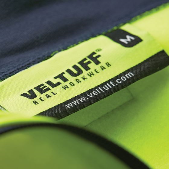 VELTUFF® 'OAKWOOD' Hi-Vis Quarter-Zip Sweatshirt HV2264