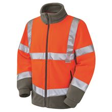 'Euston' Two-Tone Hi-Vis Fleece Jacket HV3096