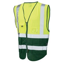 'Executive Colours' Two-Band Hi-Vis Vest HV5326