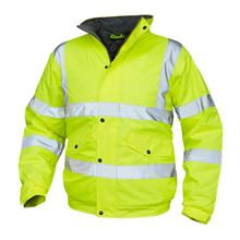 VELTUFF® 'Courier' Waterproof Hi-Vis Bomber Jacket HV5336