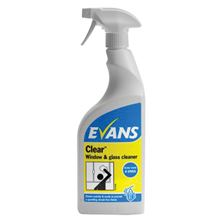 EVANS Clear™ Window & Glass Cleaner - 750ml IC2276