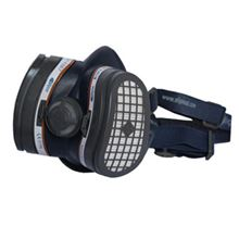 ELIPSE Lightweight Half Mask A1-P3 RD with replaceable HESPA filters PP8376