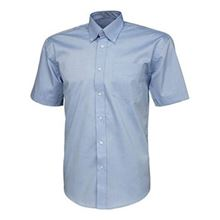 'Park Lane' Mens Short-Sleeved Oxford Shirt VC20 SH4926