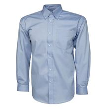 'Park Lane' Mens Long-Sleeved Oxford Shirt VC20 SH4927