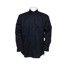 'Workplace' Mens Long-Sleeved Oxford Shirt SH6344