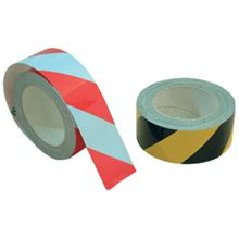 Reflective Tape - Zebra Striped Self Adhesive - 50mm x 1 Metre TA0545