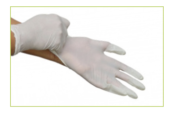 How to use disposable gloves